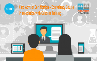 Xero Certification Training Course for Osborne Training Students