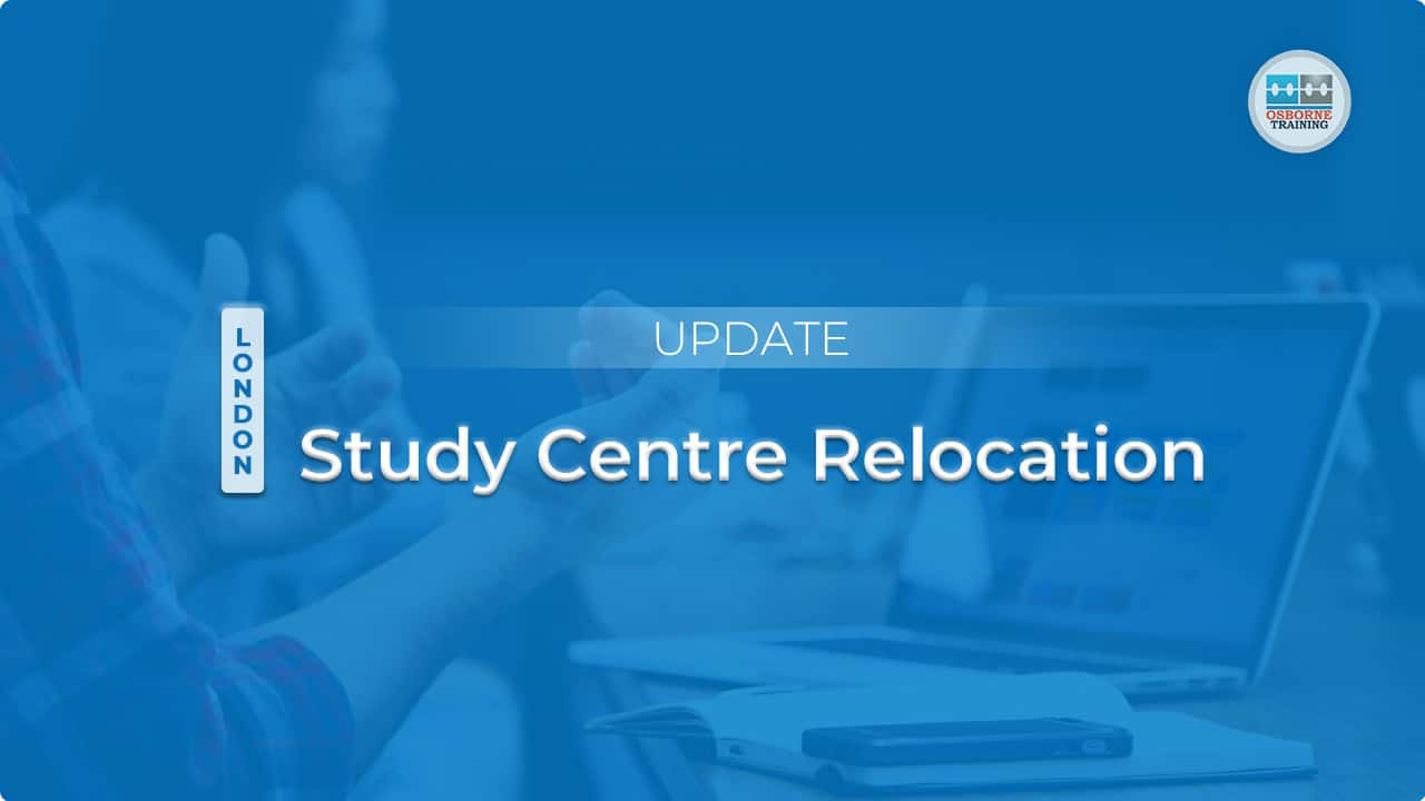 Update: London Study Centre Relocation